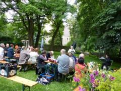 Impression vom Literarischen Picknick 2013